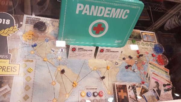 Pandemic Jubiläumsausgabe auf der Spiel '18 - Foto Alex Sch.