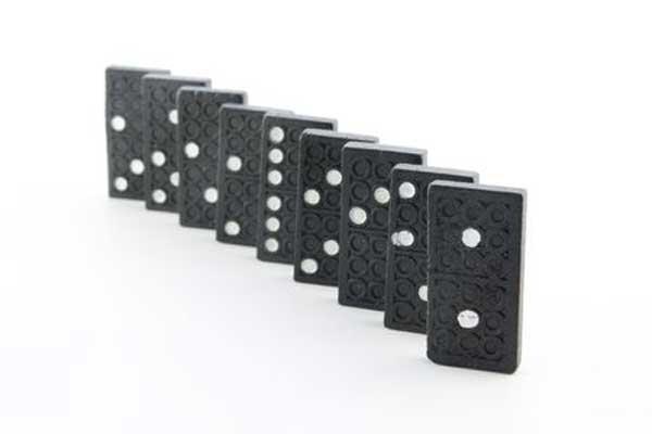 Rekorde rund um Domino - Foto von Clipdealer