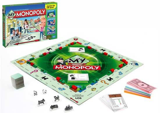 Klassiker als neue Variante: Monopoly - Foto von Schmidt Hasbro
