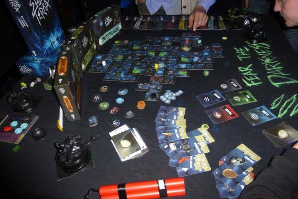 Sub Terra auf der Spielemesse 2018 - Foto von Jörn Frenzel