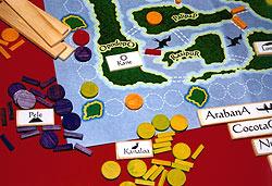 Ausschnitt einer Spielszene von Reich der Spiele