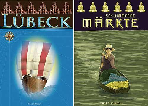 Bangkok Klongs - Covergegenüberstellung von dlp/Klemes Franz