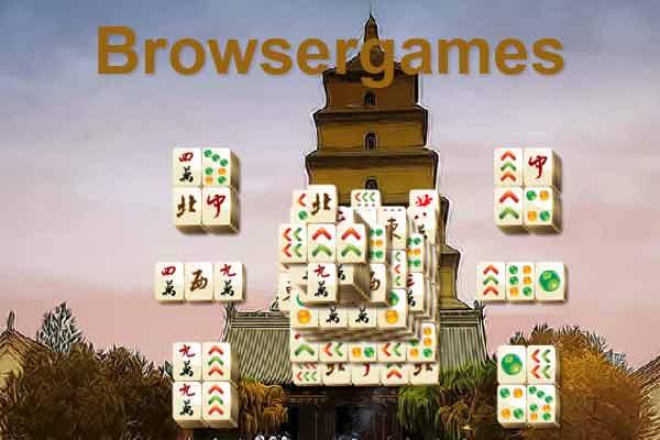 Casual Games als Browserspiel: Mahjongg ist beliebt - Screenshot von 1aspiele.com