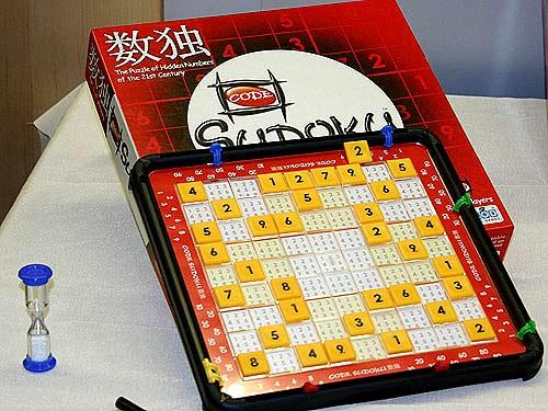 Das Sudoku von Jumbo hat ein abwischbares Spielbrett von Reich der Spiele
