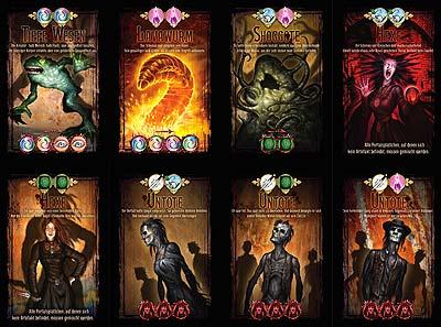 Der Hexer von Salem - Spielkarten von Kosmos