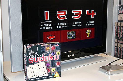 Läuft nur mit DVD, die die Aufgaben liefert - das Sudoku von Piatnik von Reich der Spiele