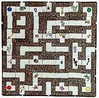 So reichte Max Kobbert seinen Spieleentwurf bei Ravensburger ein: Die veröffentlichte Version orientiert sich in Regel und Gestaltung eng am Prototypen von Max J. Kobbert