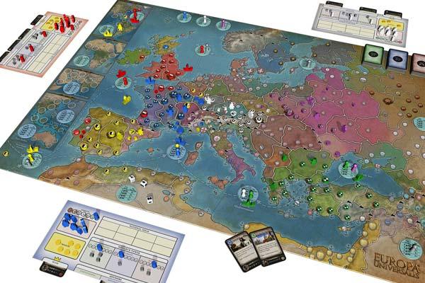 Prototyp - Europa Universalis: The Board Game - Foto von Aegir Games