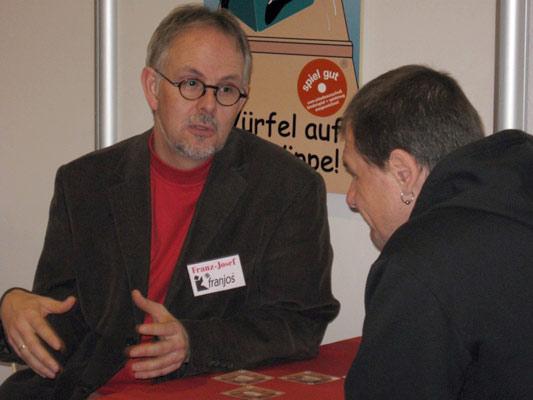 Franz-Josef Herbst mit Torsten Marold von franjos