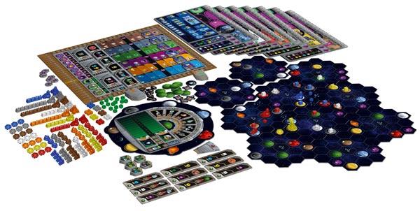 Gaia Project Spielmaterial - Foto von Feuerland Spiele
