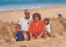Günter Burkhardt mit seiner Familie von Günter Burkhardt