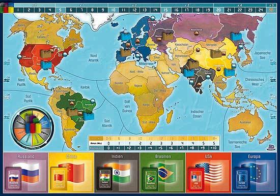 Imperial 2030 - Spielplan von PD Verlag