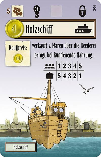 Le Havre - Schiff von Lookout Games