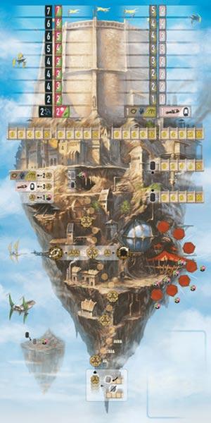 Spielbrettdesign von Noria - Foto von Edition Spielwiese