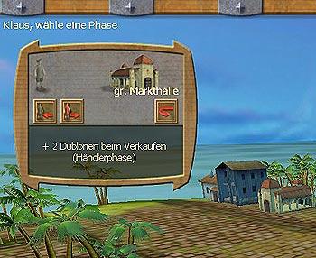 Ausschnitt eines Screenshots der 3D-Ansicht: Die Eigenschaften der Gebäude werden angezeigt von bhv Software