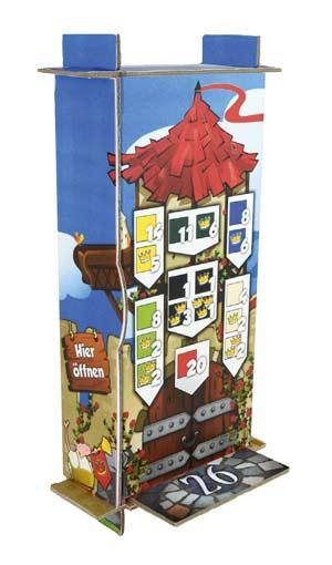 Turm bei Queendomino - Foto von Pegasus Spiele