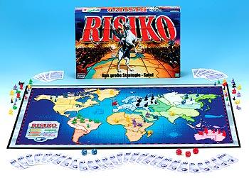 Eine aktuelle Ausgabe von Risiko von Hasbro von Hasbro