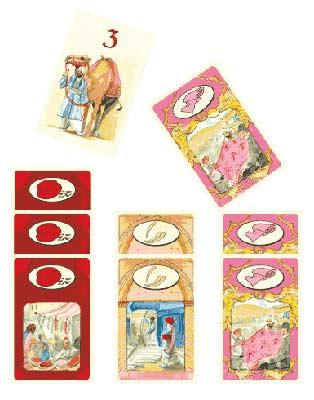 Seidenstraße - Spielkarten von DDD Verlag