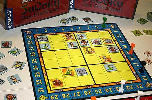 Das Sudoku von Kosmos - auf der einen Seite können Kindermit Symbolen spielen ... von Reich der Spiele