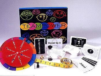 Teampower - Sieger beim Deutschen Lernspielpreis 2004 von Aktuell Spieleverlag