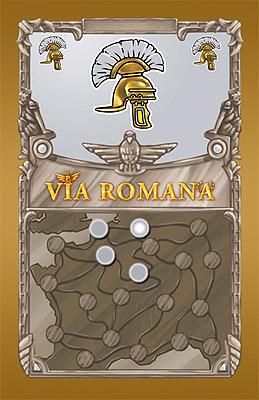 Via Romana - Spielkarte von Goldsieber