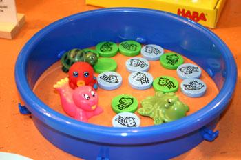 Nessi ist das zweite der Wasserspiele von Reich der Spiele