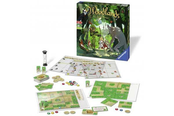 Gesellschaftsspiel Woodlands - Foto von Ravensburger