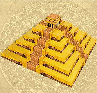 Yucatan - Pyramide von Wolf Fang
