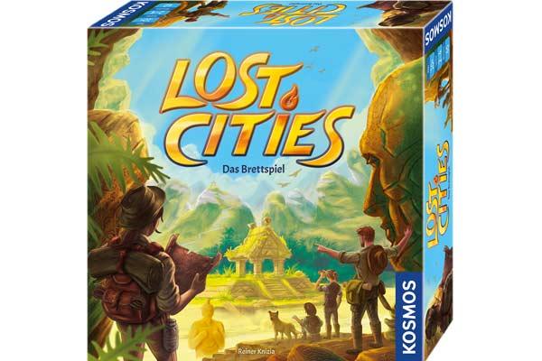 Lost Cities - Das Brettspiel - Foto von Kosmos