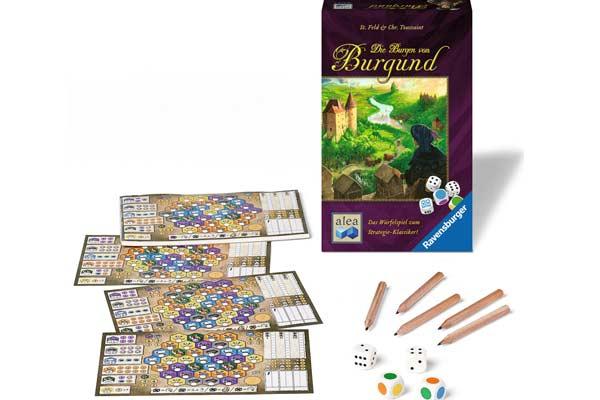 Die Burgen von Burgund: Das Würfelspiel - Foto von Ravensbruger Spiele