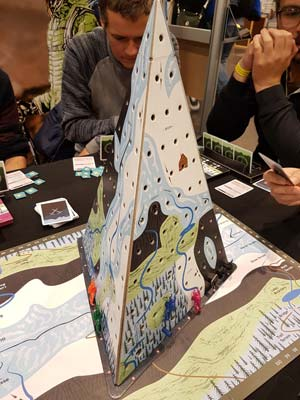 Mountaineers auf der Spiel 18 in Essen - Foto Axel Bungart