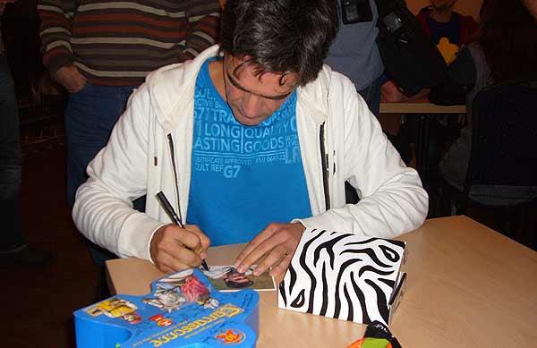 Carcassonne-Treffen 2012 - Spieleautor Klaus-Jürgen Wrede von Axel Bungart