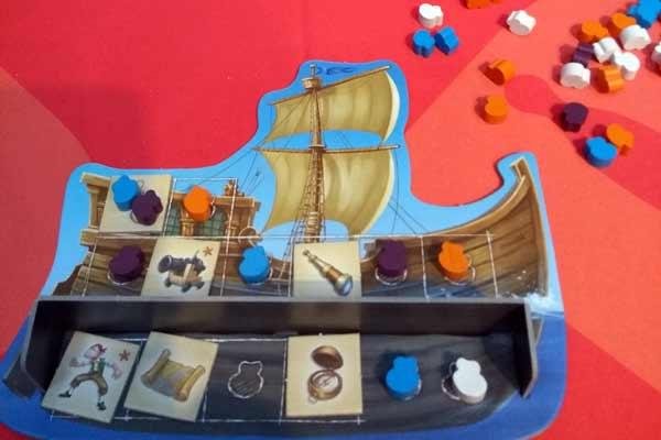 Spielmaterial des Spiels Alle an Bord?! - Foto von Dirk Janßen