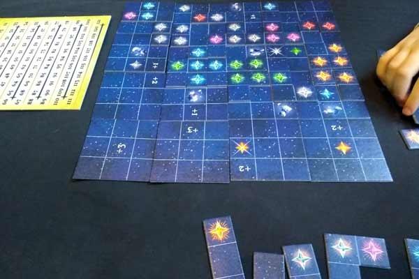 Spielbrett des Spiels Nova - Foto von Dirk Janßen