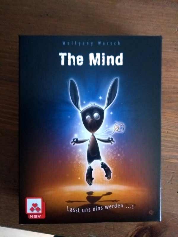 Cover der Spieleneuheit The Mind - Foto von Dirk Janßen