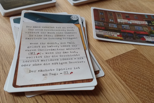 Pocket Detective: Gefährliche Machenschaften - Detailaufnahme / Foto: Steffi Münzer