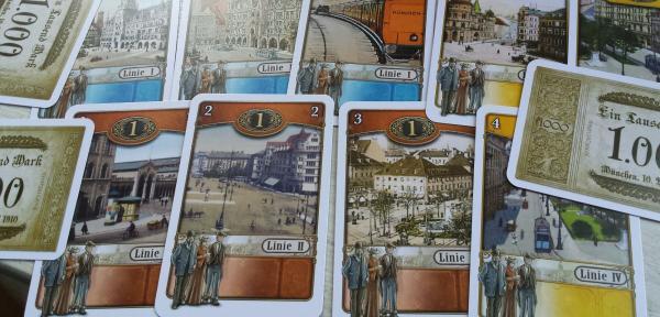 Kartenspiel Trambahn - Foto von Hendrik Breuer