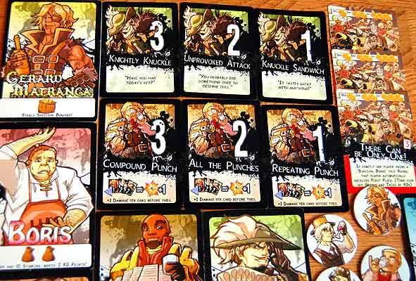 7-Card Slugfest: Material von Hendrik Breuer