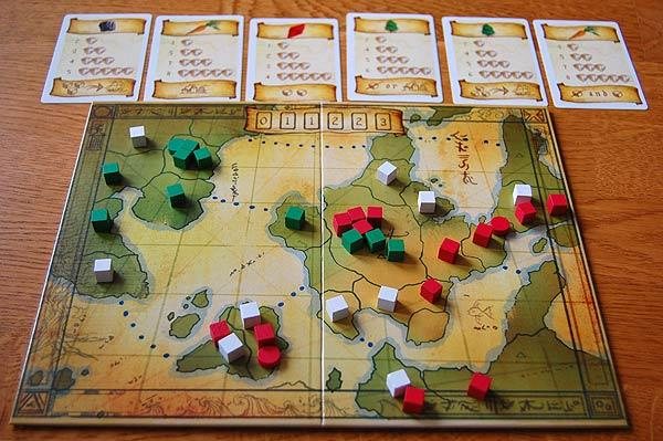 Eight-Minute Empire - Spielbrett von Hendrik Breuer