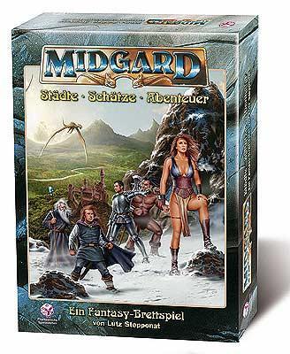 Midgard - Städte, Schätze, Abenteuer von Phantastische Spielewelten