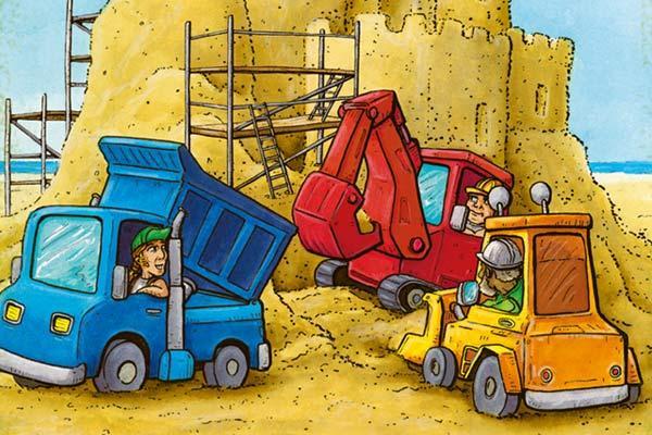 Feiner Sand - Ausschnitt - Foto von 2F-Spiele