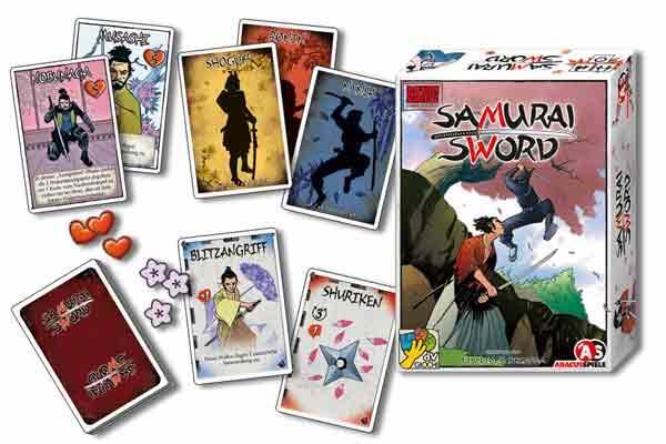 Bang! Samurai Sword - Kartenspiel - Foto von Abacusspiele