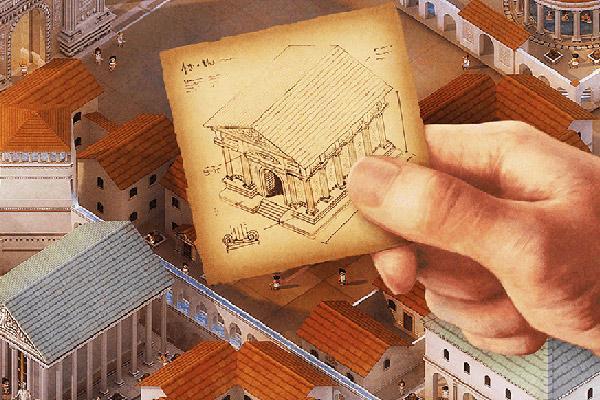 City Of Rome - Ausschnitt - Foto von Abacusspiele