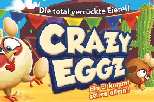 Crazy Eggz - Ausschnitt Illustration - Foto von Abacusspiele