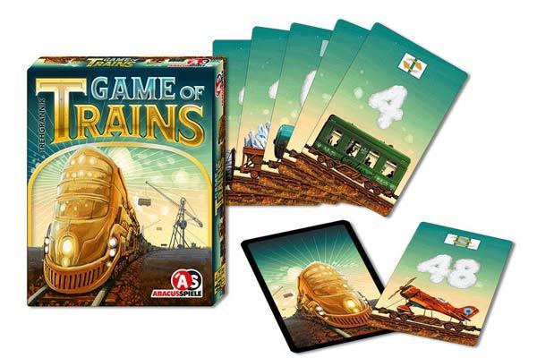 Kartenspiel Game Of Trains - Foto von Abacusspiele