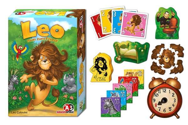 Kinderspiel Leo muss zum Friseur - Foto von Abacusspiele
