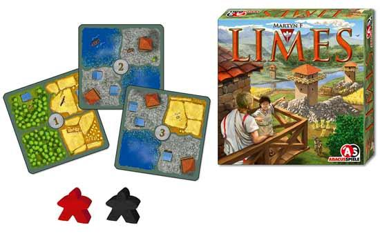 Gesellschaftsspiel Limes - Foto von Abacusspiele