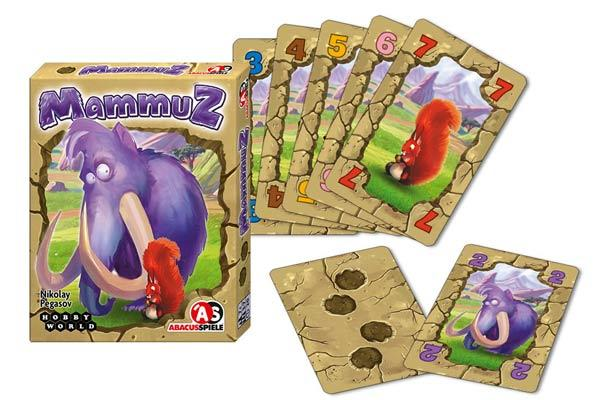Kartenspiel MammuZ - Foto von Abacusspiele