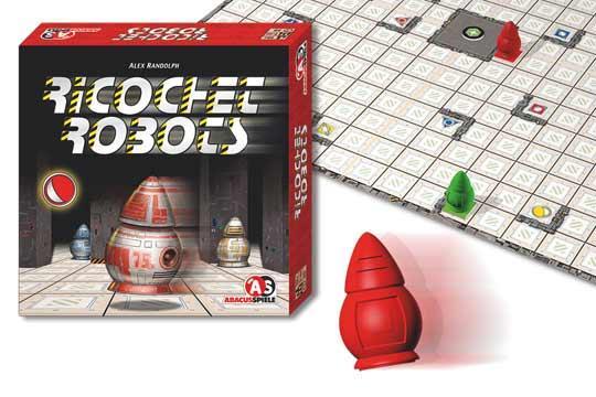Spiel Ricochet Robots - Foto von Abacusspiele