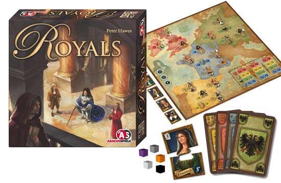 Brettspiel Royals - Foto von Abacusspiele